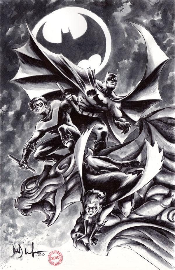 Batman nightwing and robin