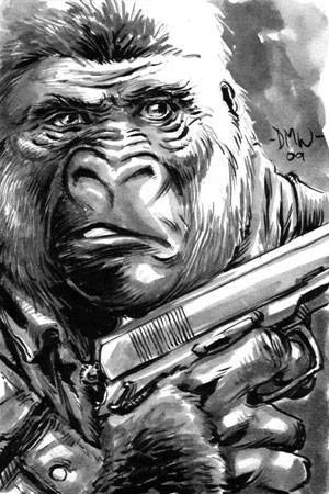 The General - W.I.P Gorilla-man