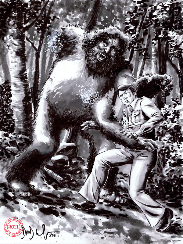 Six Million Dollar Man Bigfoot